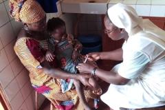 Biankouri, szpitalik diecezjalny prowadzony przez siostry