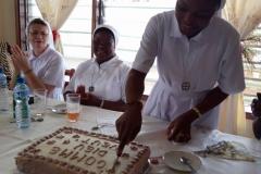 Pagouda. Świętowanie po złożeniu ślubów