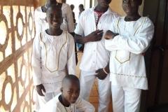 Pagouda. Dzieci z sierocińca, które w 2019 roku zostały ochrzczone. Przygotowywał je do Chrztu s. Helene