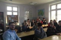 Spotkanie w LO im. Feliksa Nowowiejskiego w Braniewie